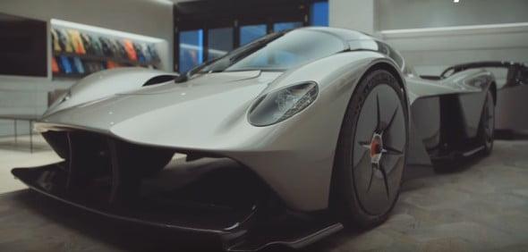 fastest legal street cars- Aston Martin Valkyrie