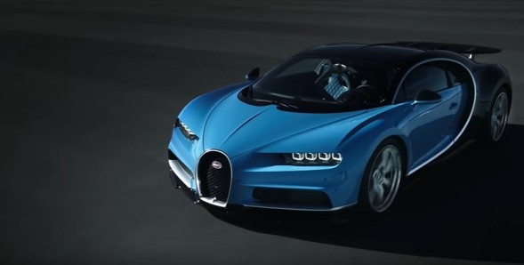 expensive cars in the world: Bugatti Chiron Sport
