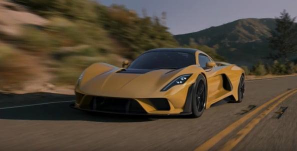 fastest legal street cars- Hennessey Venom F5