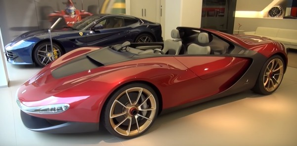 expensive cars in the world : Ferrari Pininfarina Sergio
