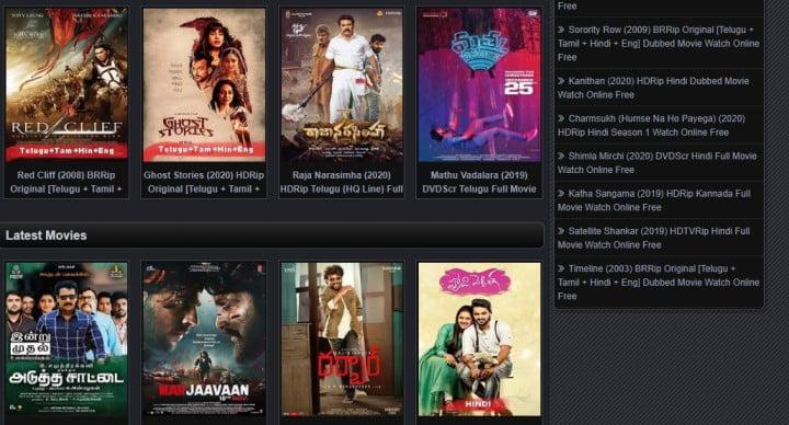 Movierulz - 2020 Latest Hollywood, Bollywood Movies