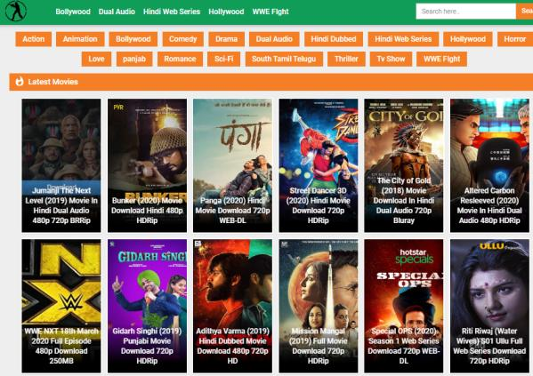 Moviescounter 2020 – Latest 300mb Hollywood, Bollywood Movies