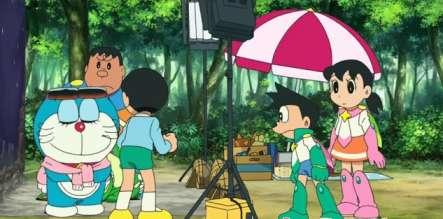Doraemon The Movie Nobita aur Antariksh Daku (2015) Full Hindi Dubbed Movie